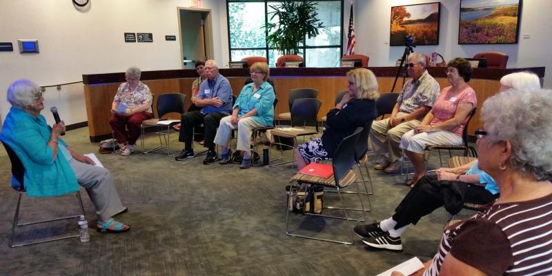 Margie Monroy tells her League story