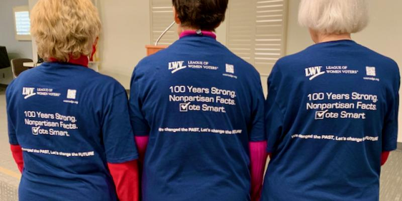 Celebrating 100 years on a t-shirt