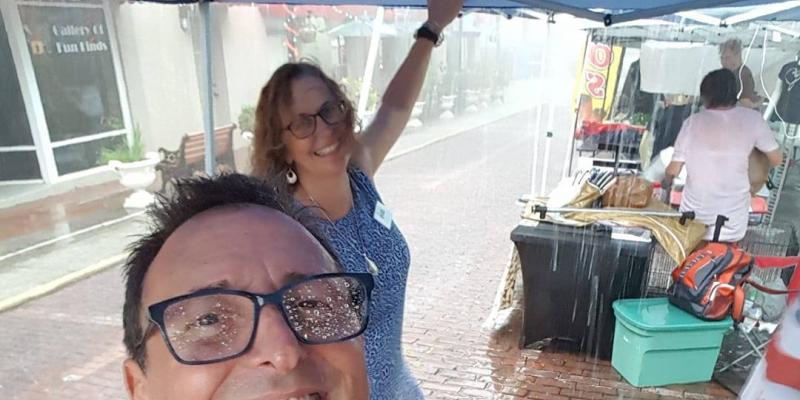 First Friday Tarpon Springs, Florida (rain or shine) - Voter Registration