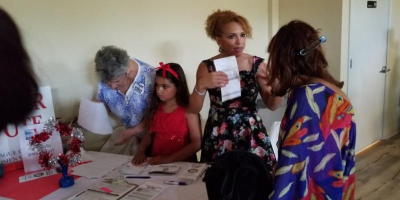 Puerto Rican Fathers Day Celebration - Voter Registration