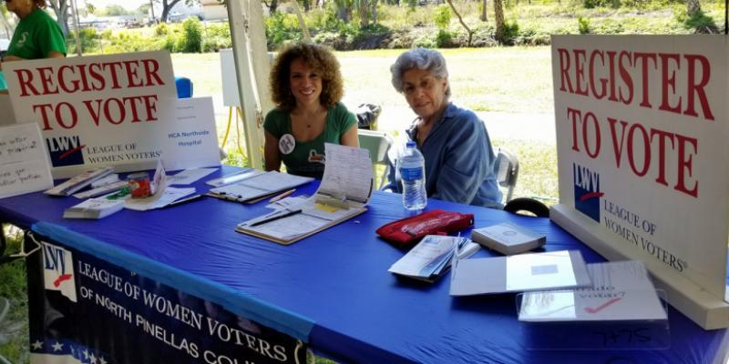 2018 City of Pinellas Park Annual Festival - Voter Registration