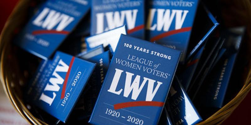 100 Year LWV Buttons