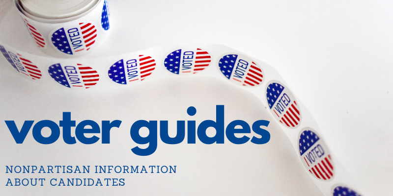 voter guide announcement