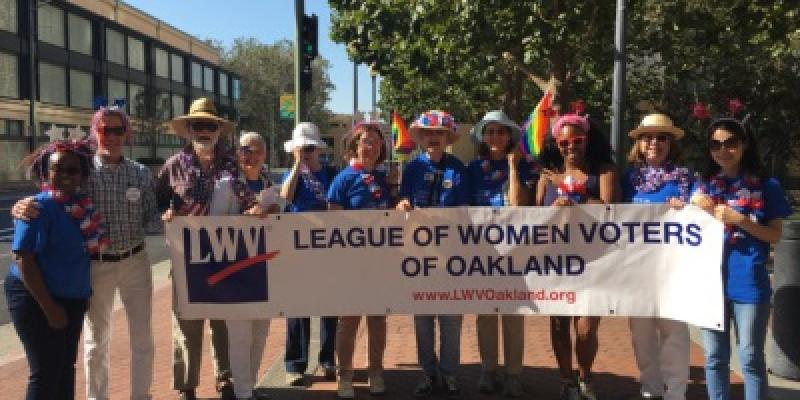 Photo 2017 Oakland Pride Parade