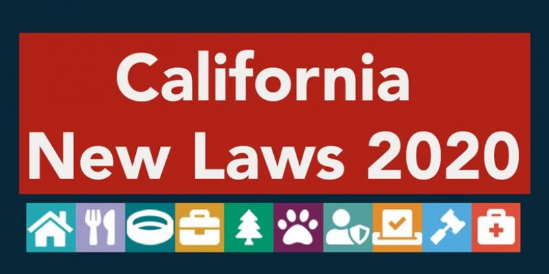 New California Laws in 2020