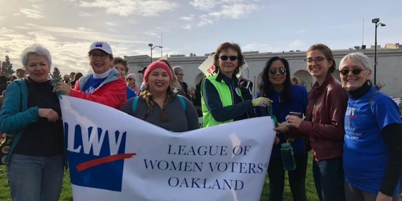 LWVO Marches in January 2019