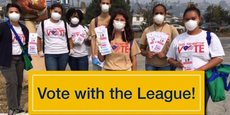 Vote with the League Nov 2020