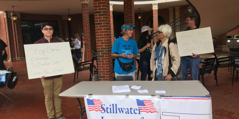 LWV Stillwater Supported the OSU Climate Strike