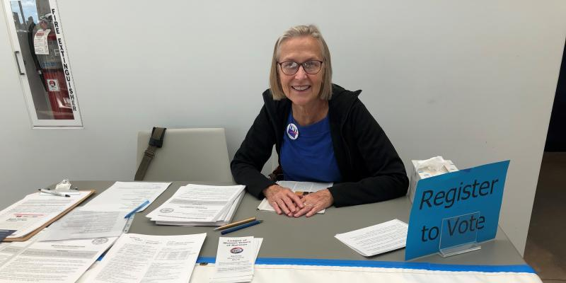 LWV Norman on National Voter Reigstration Day