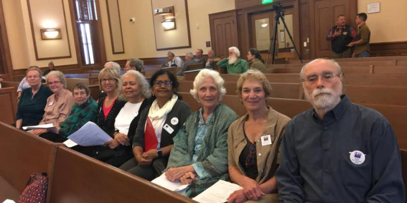 Chatham Members at Commissioner Meeting