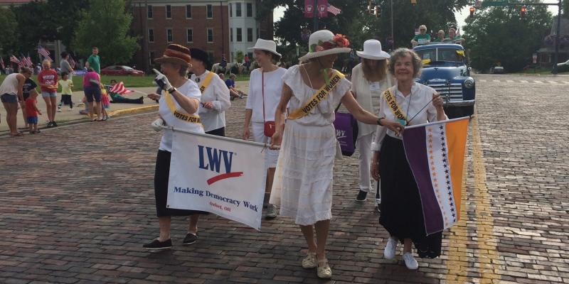 4th of July 2018 - Suffragettes Parade