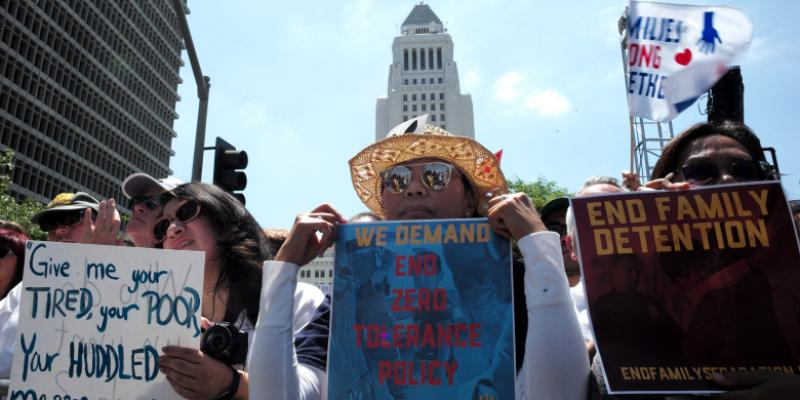 Immigration Rally Image