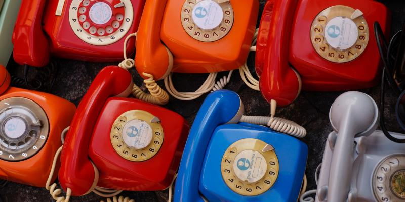 Phone bank Image
