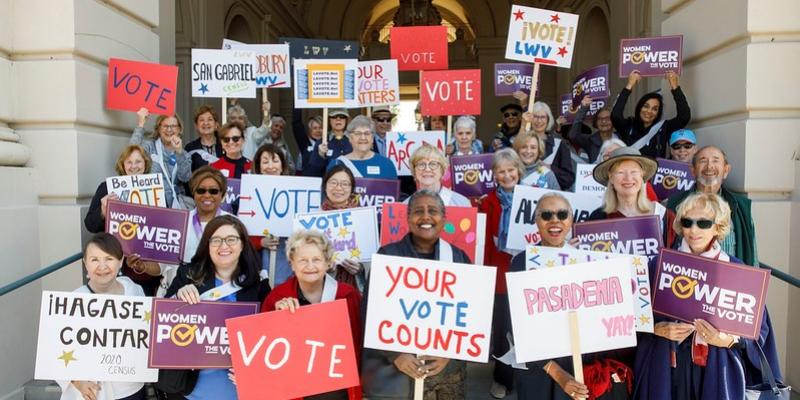 Pasadena Area  Women Power the Vote Day of Action