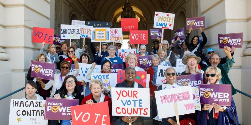 LWV Pasadena Area Day of Action