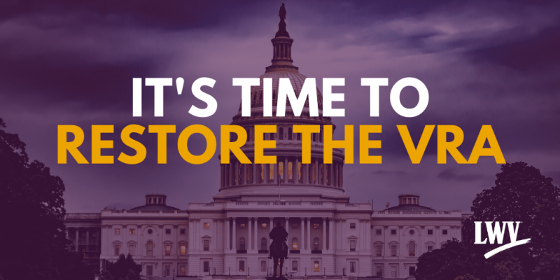 It's Time to Restore the VRA