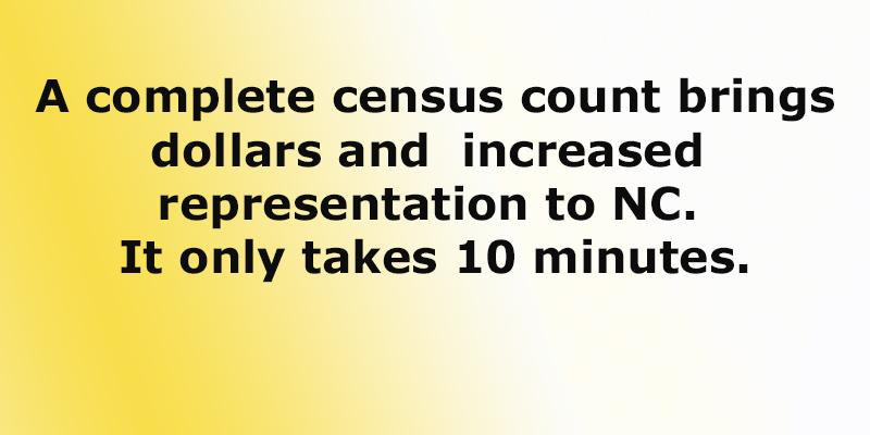 time to complete the census form if your household has not done it