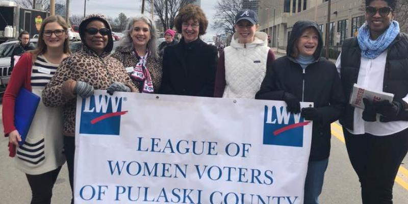LWV Pulaski County members