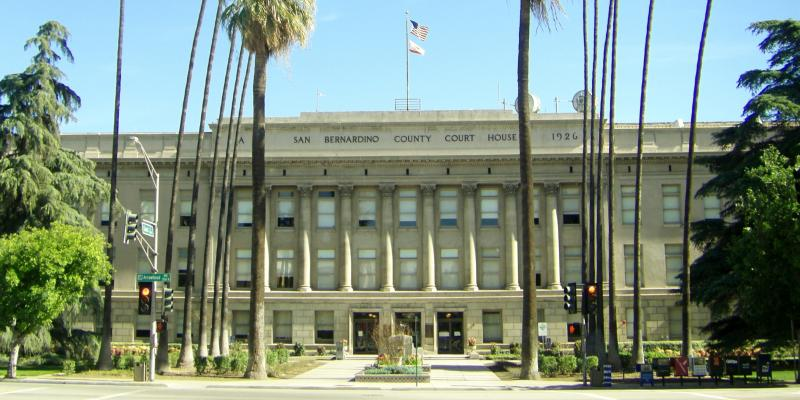 The Old San Bernardino Court House