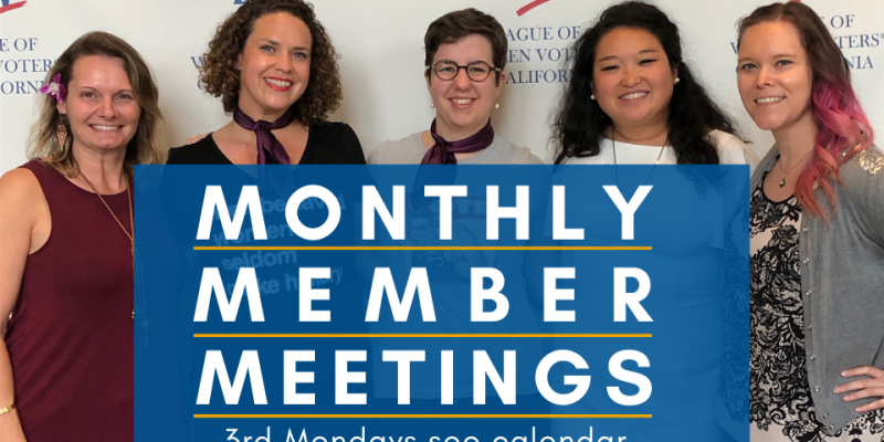 Monthly Member Meeting