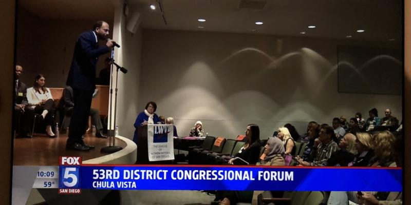 53rd District Congressional Forum