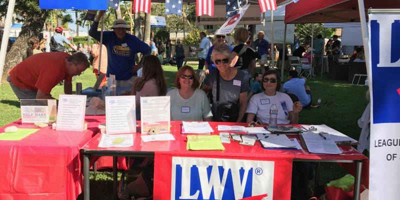 LWVSB at Earth Day