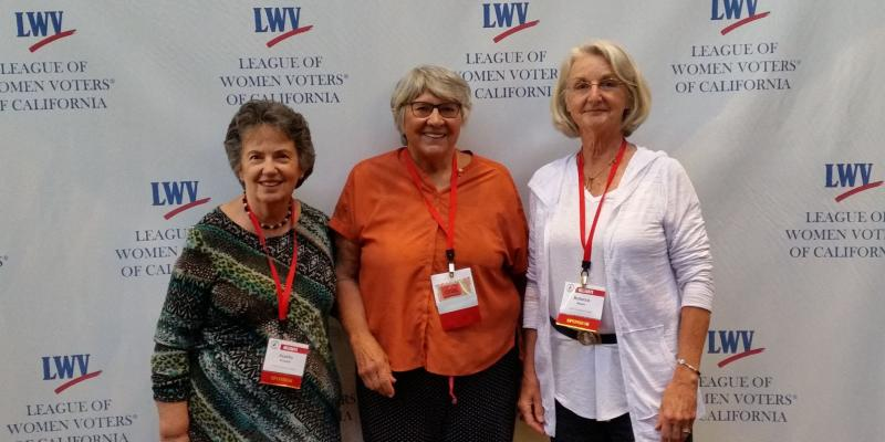 LWV Sonoma County at 2017 LWVC Convention