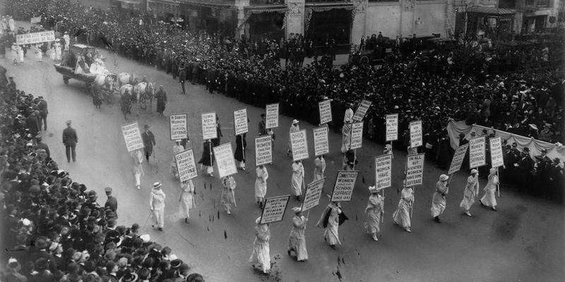 Before We Could Vote, We Marched 1915