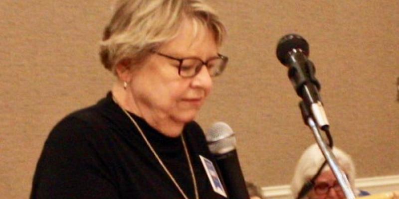 Lynn Teague Speaking to Convention 2019