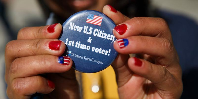 Becoming a Voting American