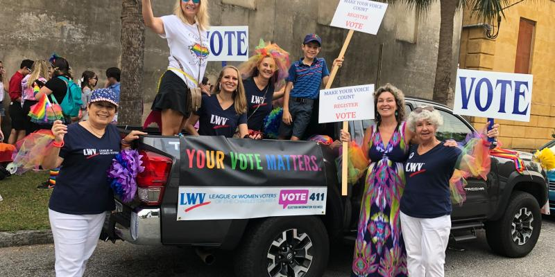 Charleston League in Pride Parade