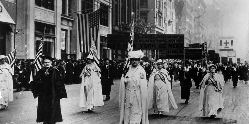 Women Suffragists 1917