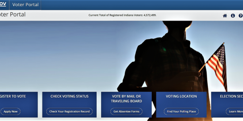 indiana voters website