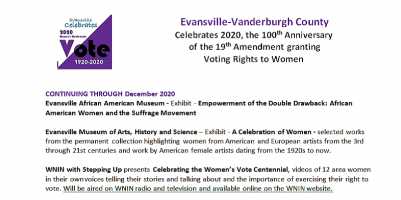 suffrage events 2020