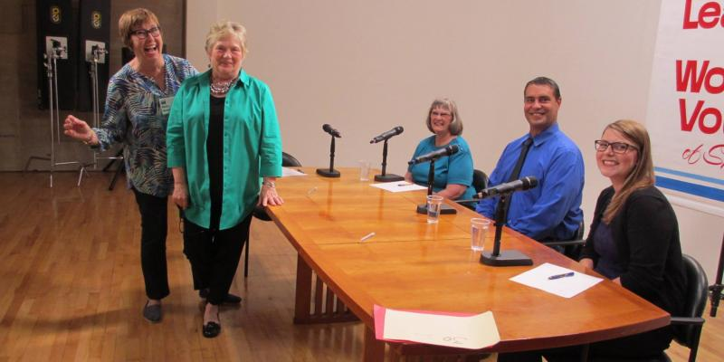 Televised Candidate Forum (LWV Spokane Area WA)
