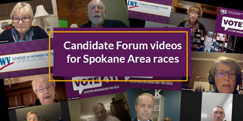 Candidate Forum Videos for 2020 General Election