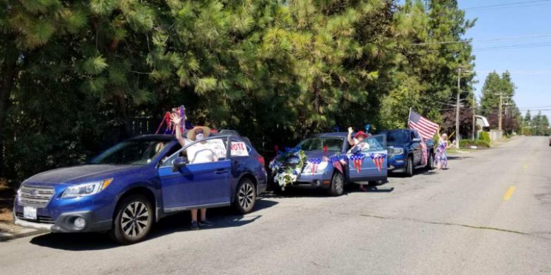 Centennial Automobile Parade