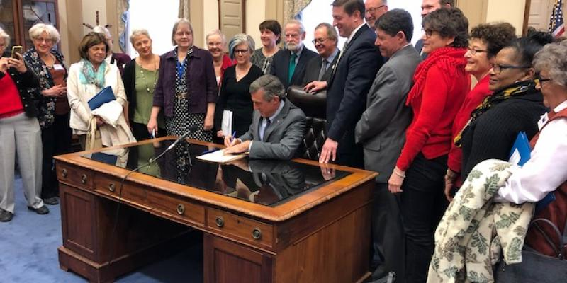 National Popular Vote legislation signed by Gov. Carney