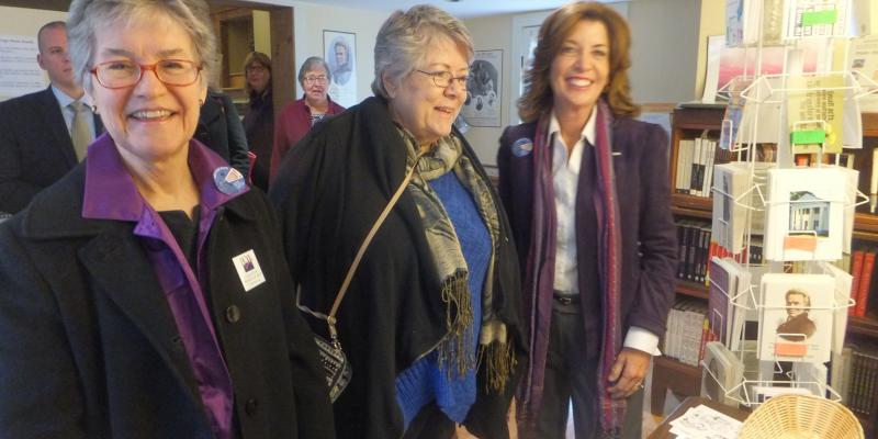 Celebrating Women's Suffrage at the Gage House in Fayetteville NY