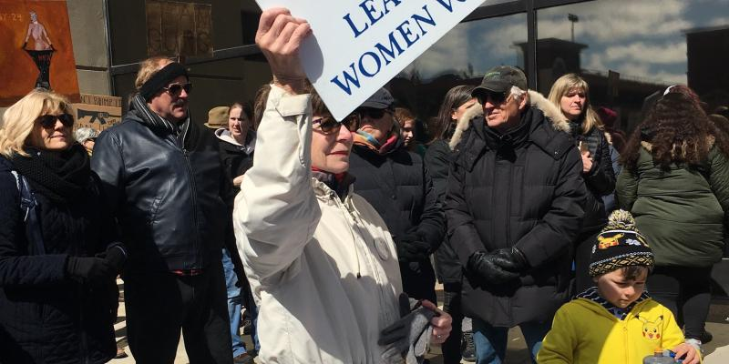 "The LWV at ""March for Our Lives"""
