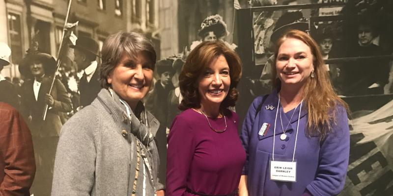 Celebrating Women's Suffrage at the New York State Museum Nov 6, 2017