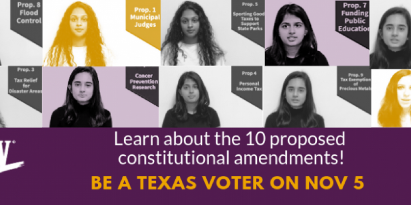 10 proposed constitutional amendments with photos of interns