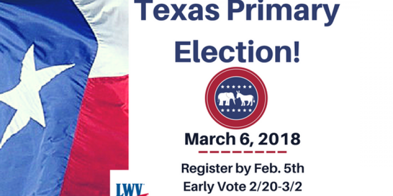 graphic Texas Primary Election