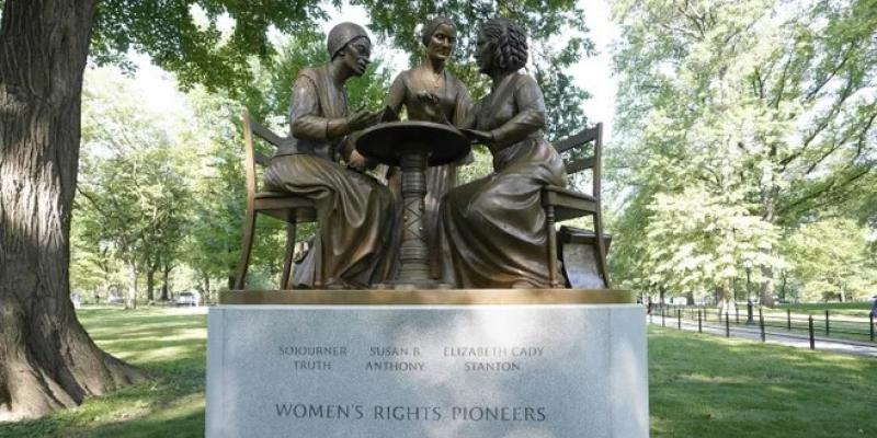 New Women's Rights Pioneers Statue in Central Park