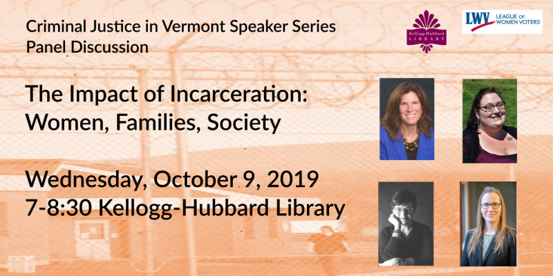 Panel Discussion October 9  at pm.  Impact of Incarceration: Women, Families Society