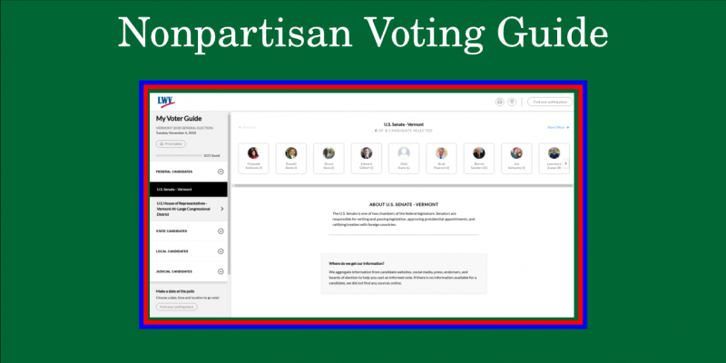 Nonpartisan Voting Guide screenshot
