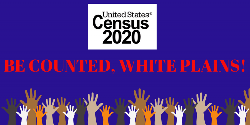 Untied States Census 2020 Be Counted White Plains