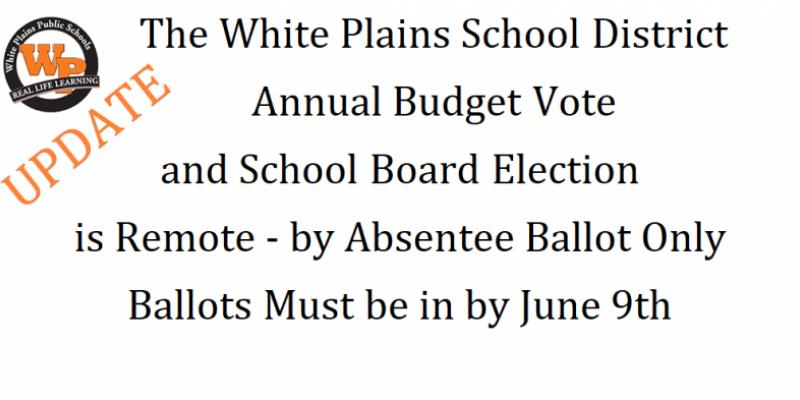 Updated School Board and Budget ballot return info