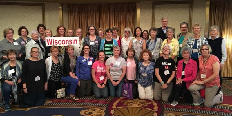 Wisconsin League members at National Convention