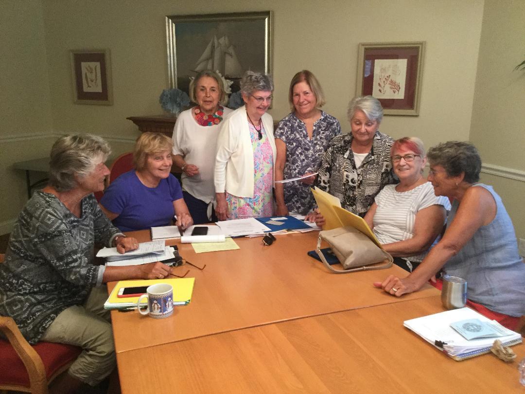 Social Committee members work on Educational Funding Forum